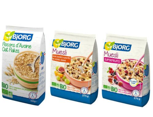 Bjorg(ビオルグ) オーガニックオートミール&ミューズリーが2020年5月15日(金)新発売