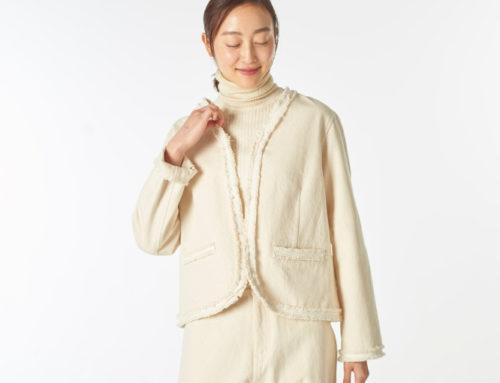 オーガニックコットン ファッションブランド「プリスティン」2020年の秋冬コレクション
