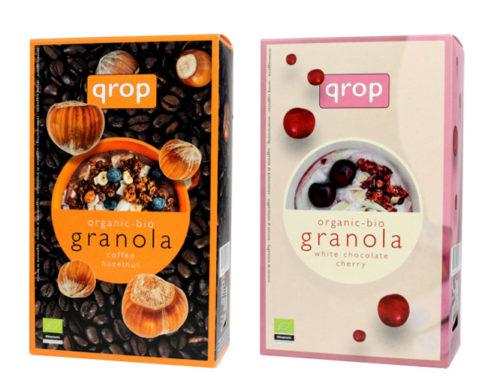 オランダ発!オーガニックシリアル「qrop(クロップ)」グラノラ2種が2020年6月24日新発売